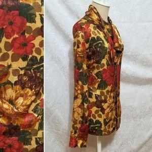 Vintage Blouse with Cravat